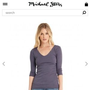 NWT OS Michael 🌟 olive green top!